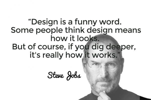 Design citazione Jobs
