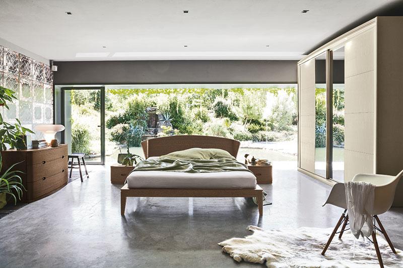 Ecosfera suite – Comfortable Glamour di Accademia del Mobile in legno massello: elementi curvi e forme avvolgenti, design semplice e armonioso..
