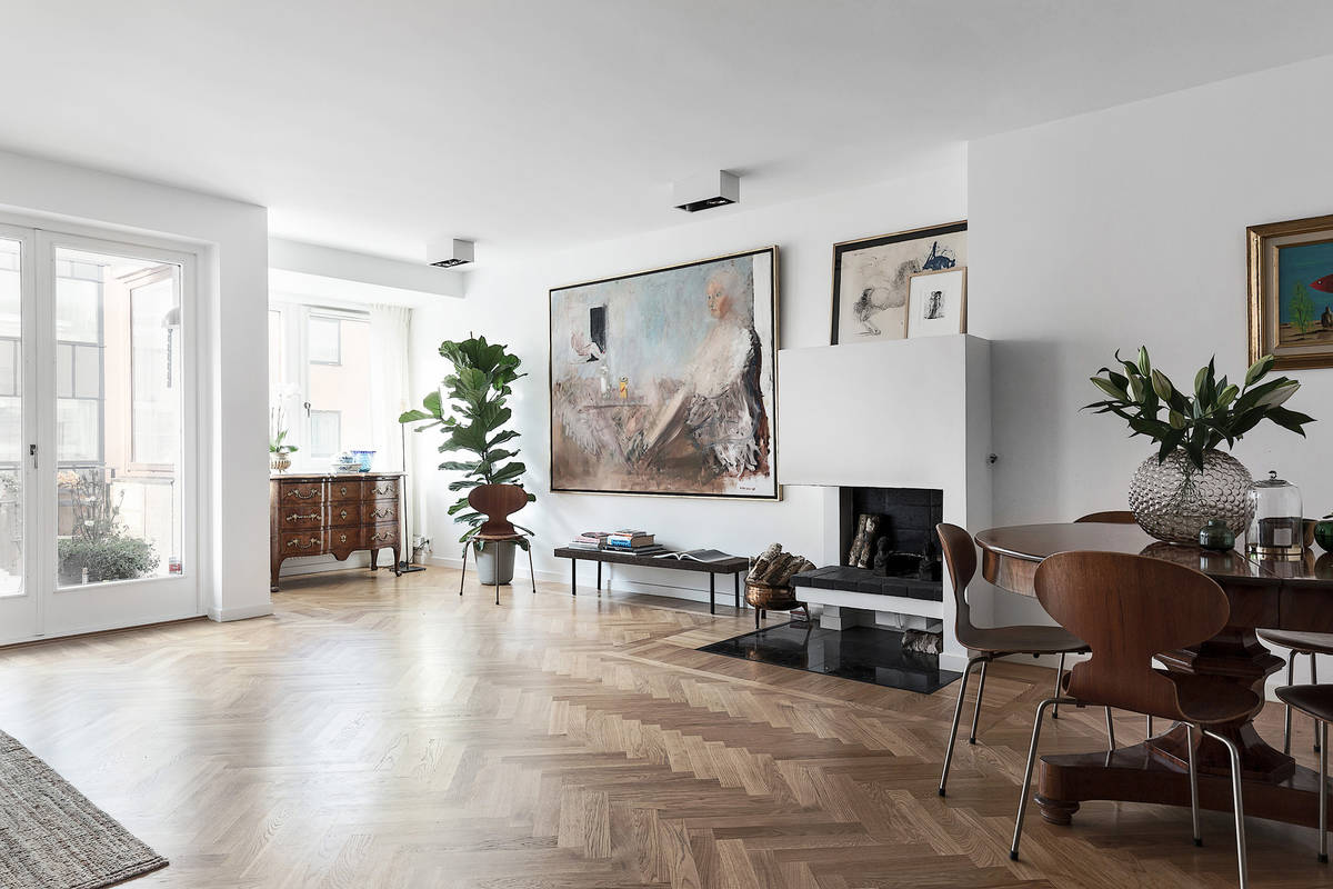 Lusso in stile scandinavo casa di stile for Riviste arredamento casa