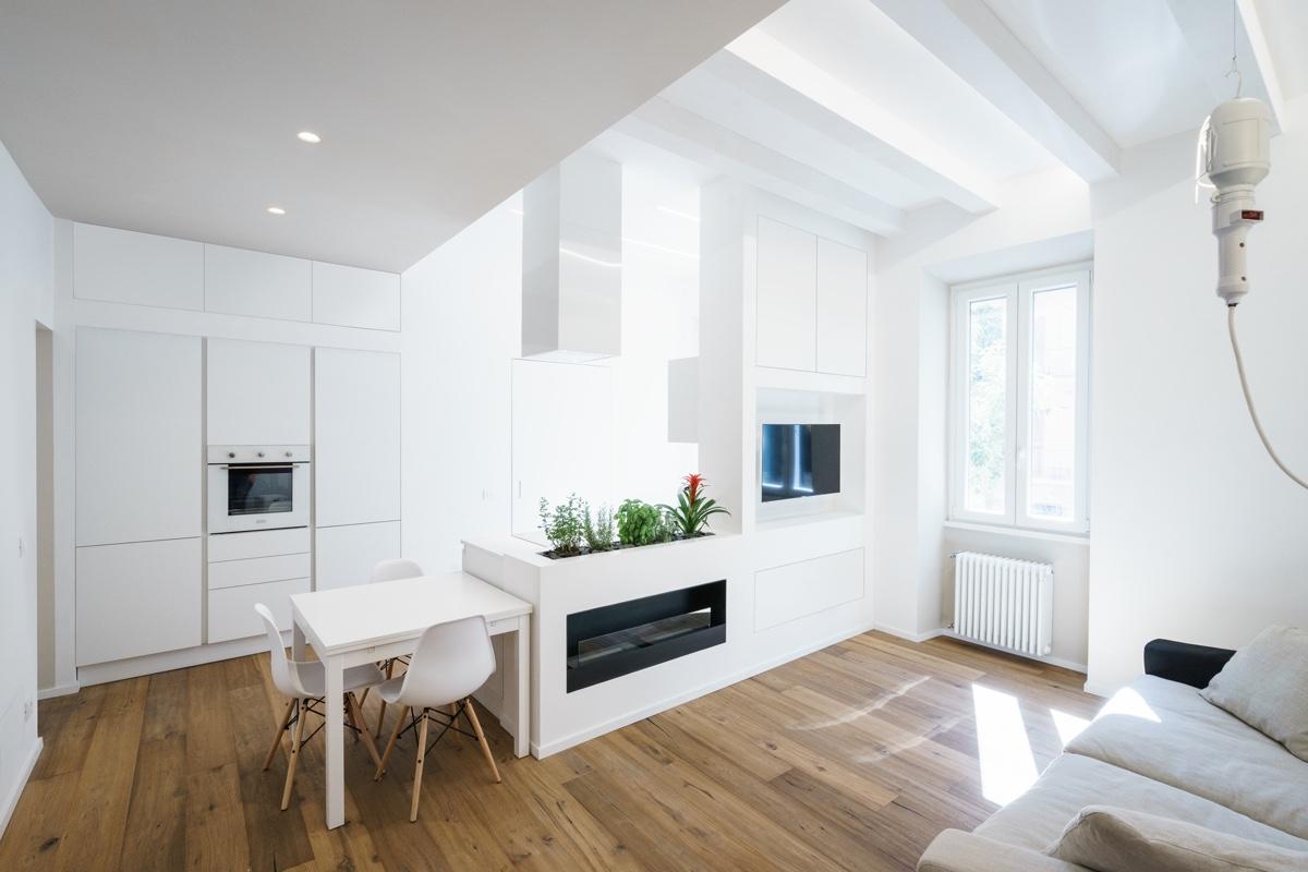 Popolare 2 esempi di piccoli appartamenti di grande design - Casa di stile NT19