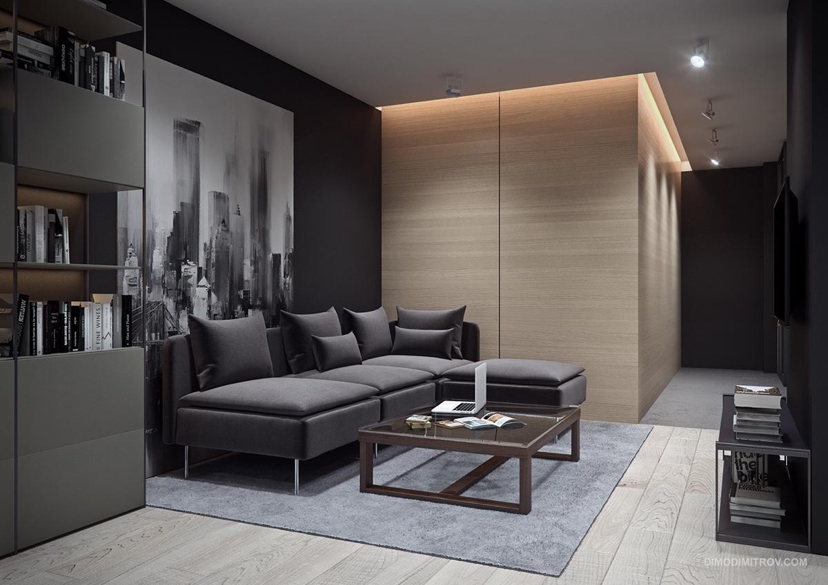 2 esempi di piccoli appartamenti di grande design casa for Apartamentos modernos 2016