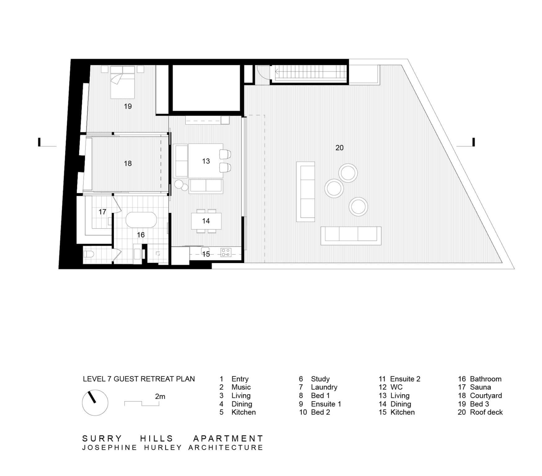 Designer: Josephine Hurley Architecture