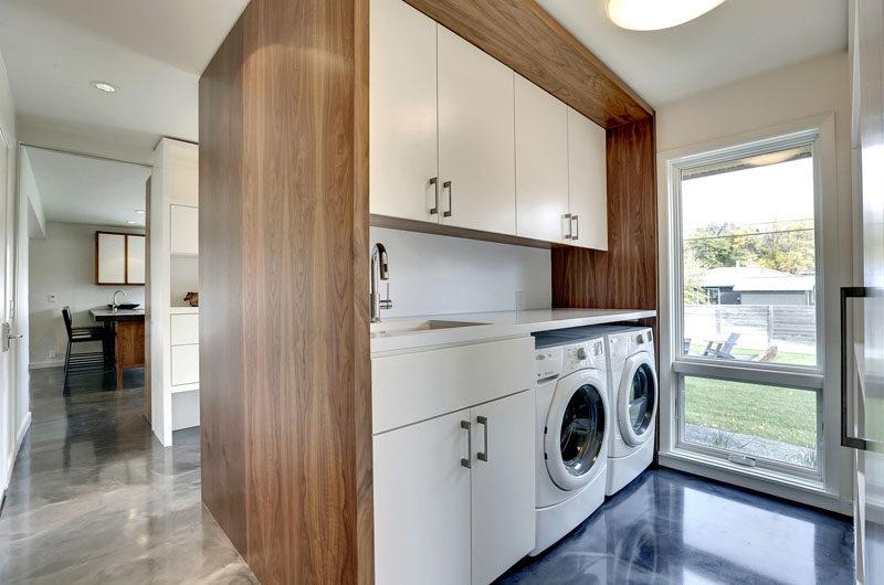 Idee per organizzare al meglio la lavanderia di casa for Piani casa rambler