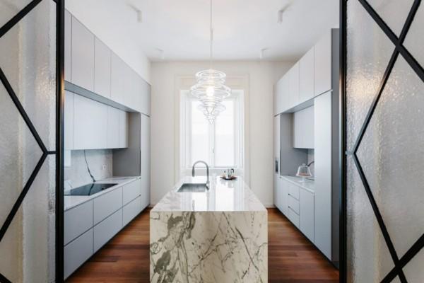Apartment P by Nomade Architettura Interior Design