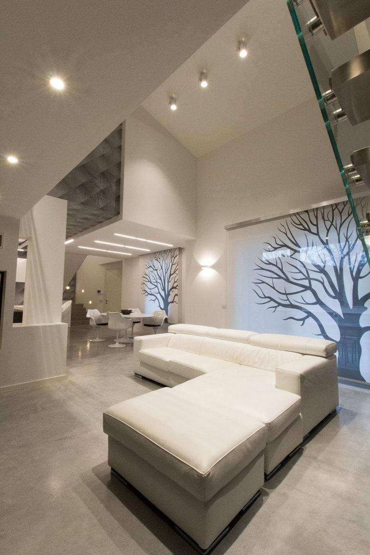 I giardini verticali e vista panoramica per un for Progetto appartamento moderno