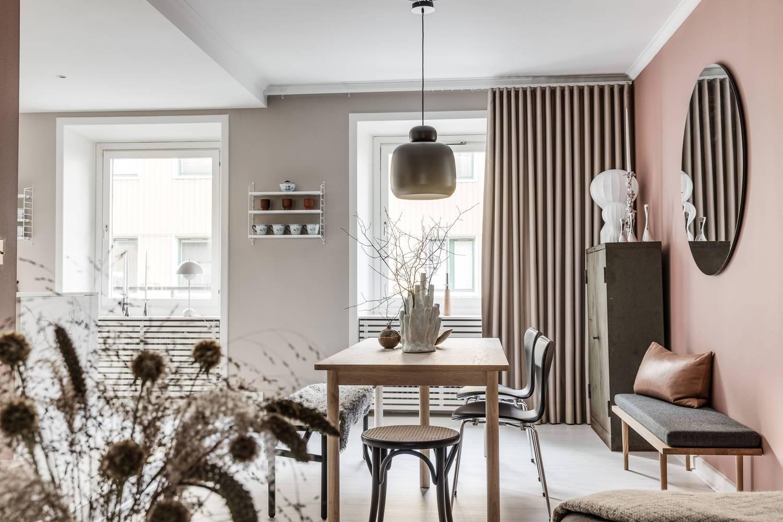 Morbide tonalit di rosa per interni caldi e romantici for Interni minimalisti