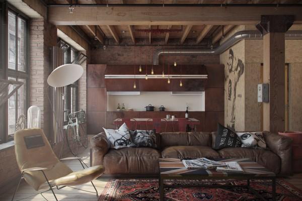 Stile industriale archivi casa di stile for Appartamento design industriale